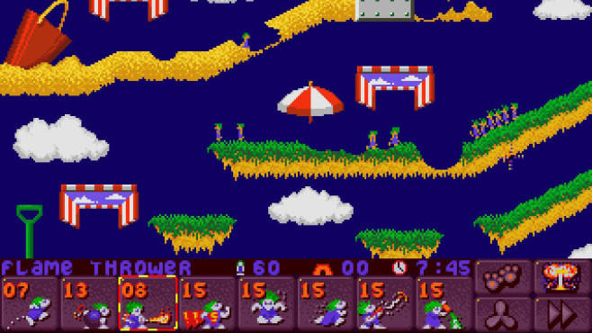 Lemmings 2 – The Tribes ©DMA Design Limited