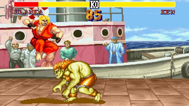 Street Fighter 2 ©Capcom Co., Ltd.