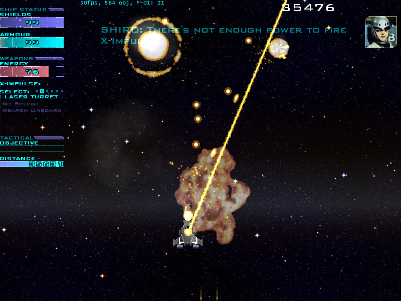 Screenshot 1 - X-Bomber