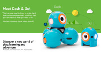 Wonder Magazine: Dash & Dot © Wonder Workshop