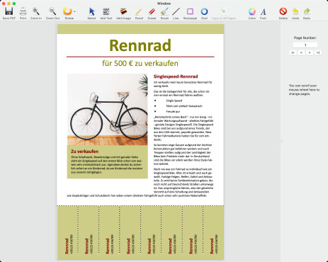 Screenshot 1 - PDF Editor Mac (Mac)