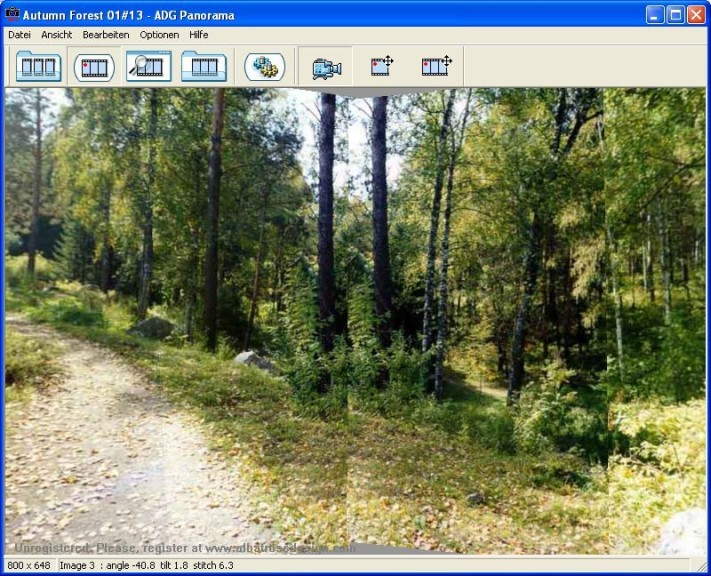 Screenshot 1 - ADG Panorama Tools