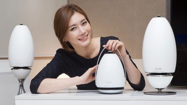 Samsung: 360-Grad-Lautsprecher WAM7500/6500 ©Samsung