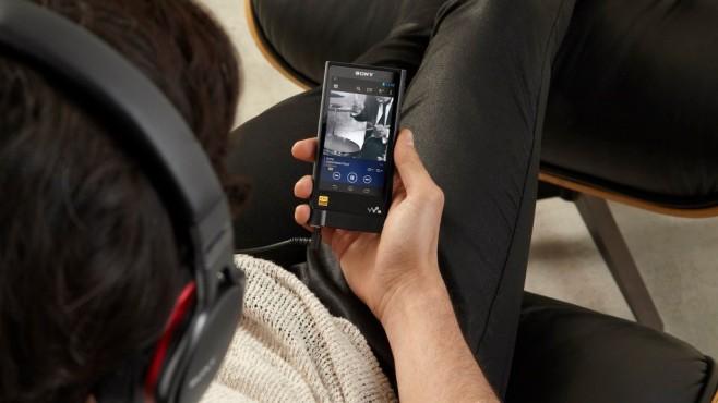 Sony Walkman NW-ZX2 ©Sony