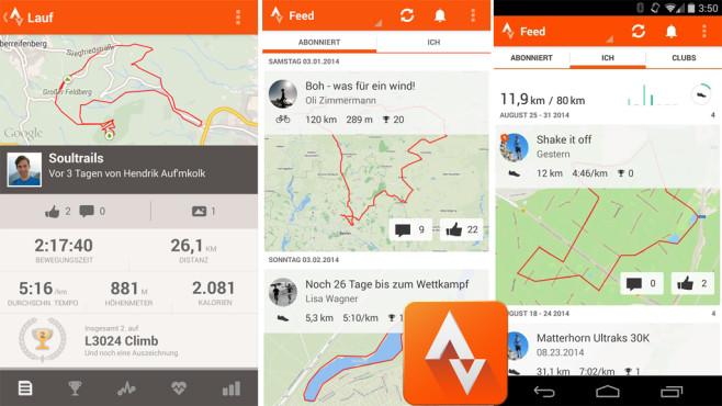 Strava GPS Laufen & Radfahren ©Strava Inc.