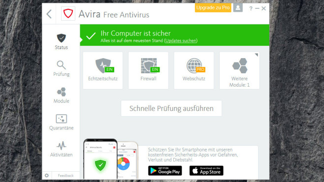 Antiviren-Software: PC absichern © COMPUTER BILD