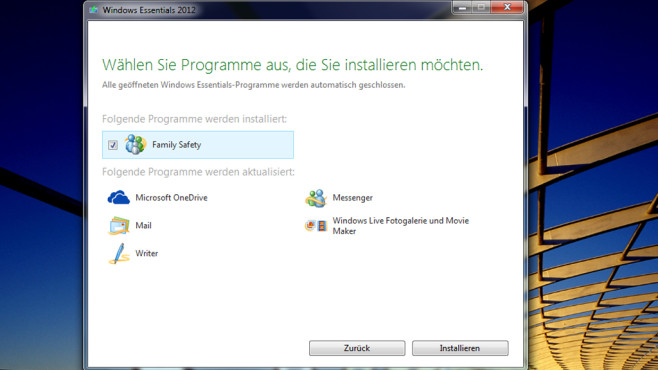 Windows Essentials: Verschwundene Bordmittel zurückholen © COMPUTER BILD