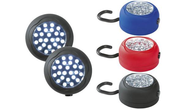 Livarno Lux LED-Magnetleuchten ©Lidl