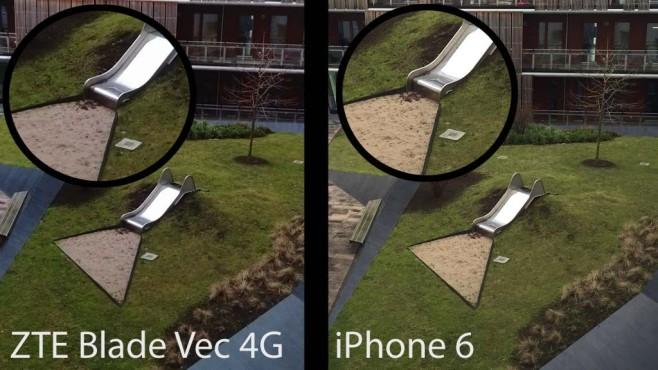 ZTE Blade Vec 4G: LTE-Smartphone unter 200 Euro im Test Die 13-Megapixel-Kamera des ZTE Blade Vec 4G stellt Farben natürlich und kräftig dar. Jedoch zeigten sich im Test auch erste Mängel.©COMPUTER BILD