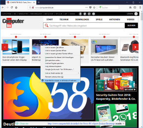 Link Virus Check: Security Plus für Firefox