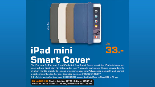 Apple Smart Cover (iPad mini) © Saturn