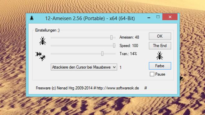 12-Ameisen: Desktop in Unordnung bringen ©COMPUTER BILD