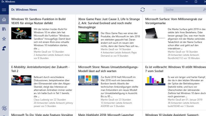 Dr. Windows (App für Windows 10 & 8): Vorbeugung für PCs ©COMPUTER BILD