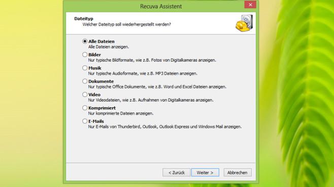 Recuva: Rettungsleine für Dateien ©COMPUTER BILD