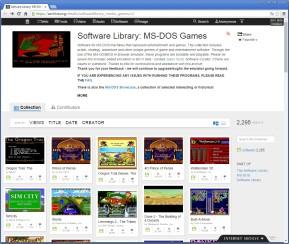 MS-DOS-Games: Über 2.000 Spieleklassiker im Browser zocken