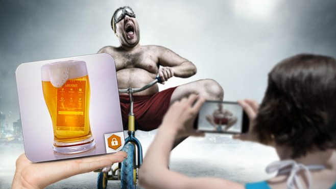 Drunk Locker App©contrastwerkstatt - Fotolia.com, Nomad_Soul - Fotolia.com, Drunk Locker