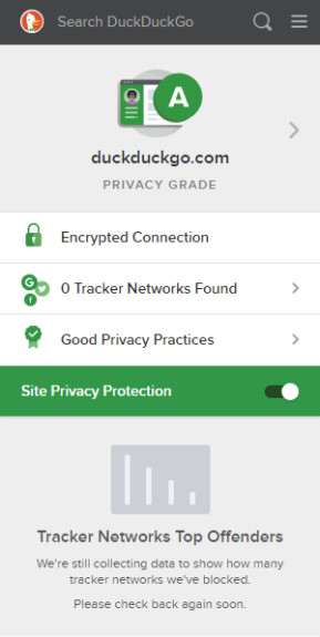 DuckDuckGo Privacy Essentials für Firefox