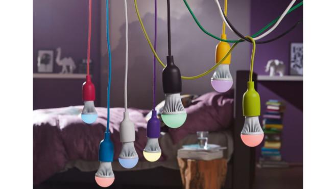 Livarno Lux LED-Farbeffektlampe ©Lidl