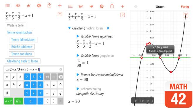 Mathematik-Apps für Smartphone und Tablet - Bilder, Screenshots ...