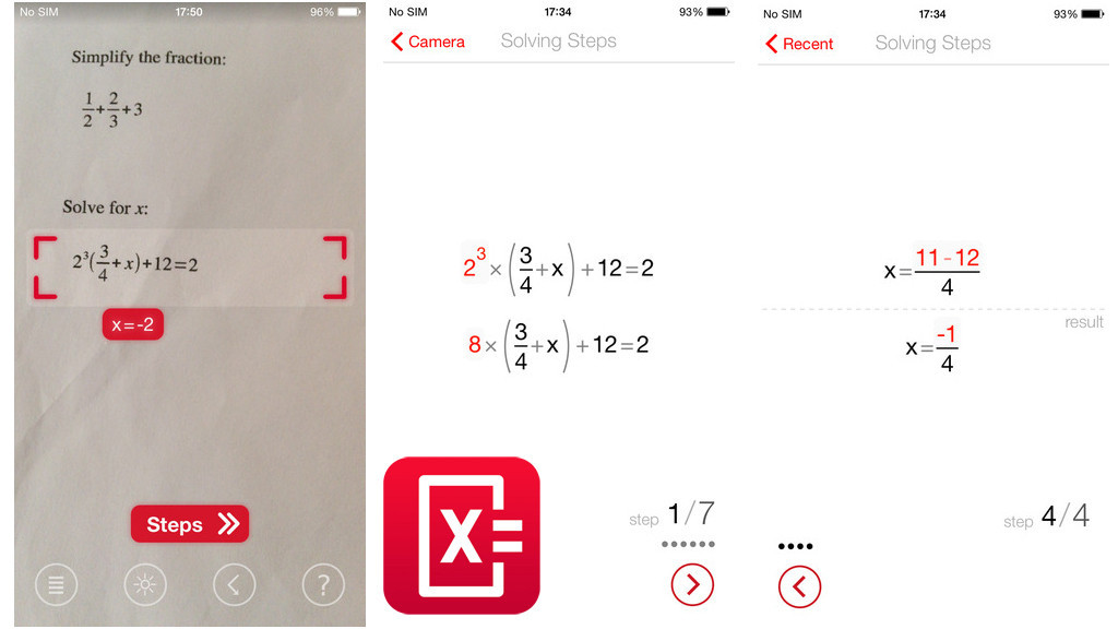 Mathematik-Apps für Smartphone und Tablet - Bilder, Screenshots ...