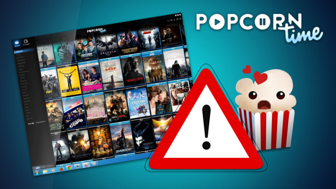 Popcorn Time Abmahnung©Popcorn Time