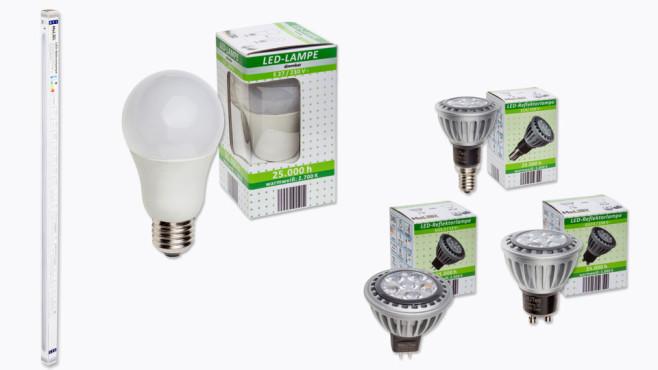 LED-Lampen ©Aldi-Nord