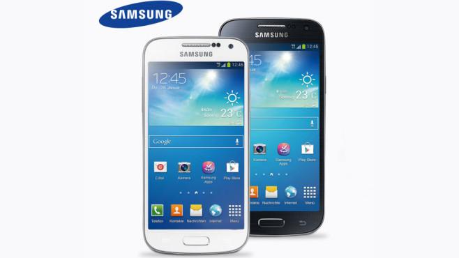 Samsung Galaxy S4 mini ©Aldi-Nord