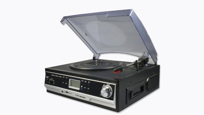 Schallplatten- und Kassettendigitalisierer ©Aldi-Nord