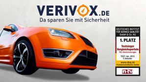 Virivox: Testsieger beim Kfz-Versicherungs-Vergleich©Andrii IURLOV - Fotolia.com, magann - Fotolia.com, verivox, Deutsches Institut f�r Service-Qualit�t GmbH & Co. KG
