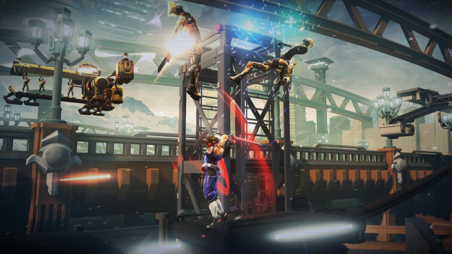 Playstation Plus: Strider © Sony, CE EUROPE LIMITED