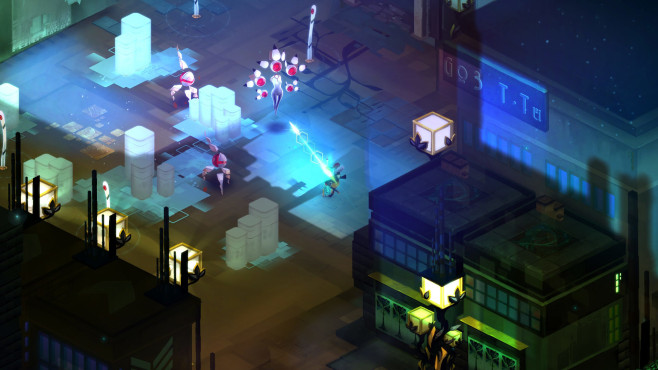 Playstation Plus: Transistor © Sony, Supergiant Games, LLC.