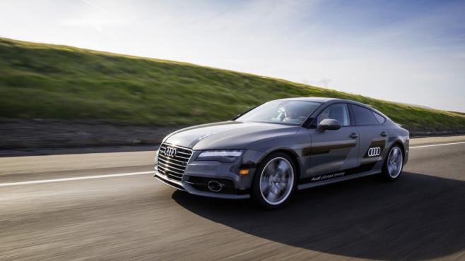 Autonome Autos: Bald auch auf deutschen Straßen vermehrt unterwegs.©Audi