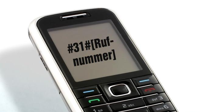Rufnummernübertragung einzeln unterdrücken ©glo5 - Fotolia.com