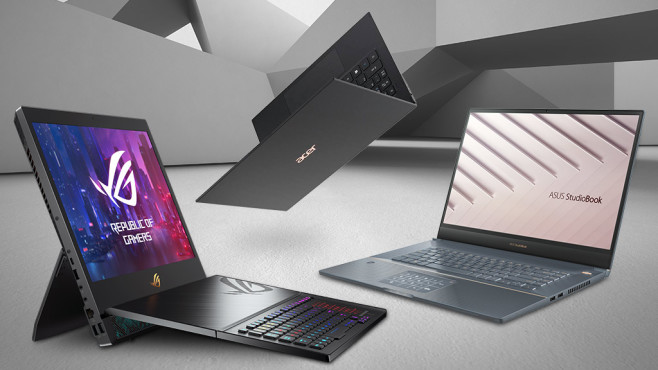 Neue Laptops 2019 © iStock.com/terng99, Acer, Asus