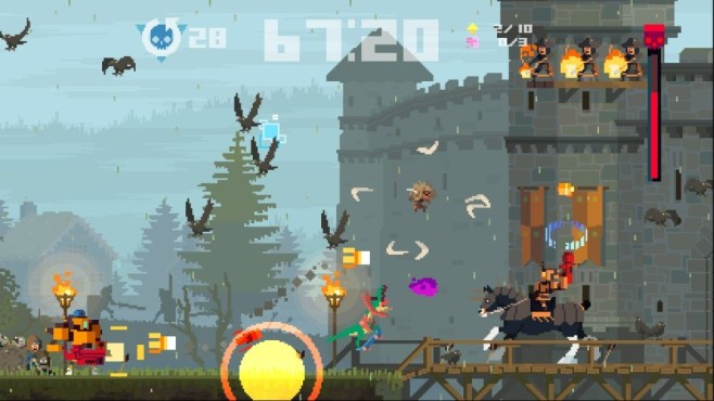 Games with Gold: Super Time Force ©Microsoft, Capybara Games