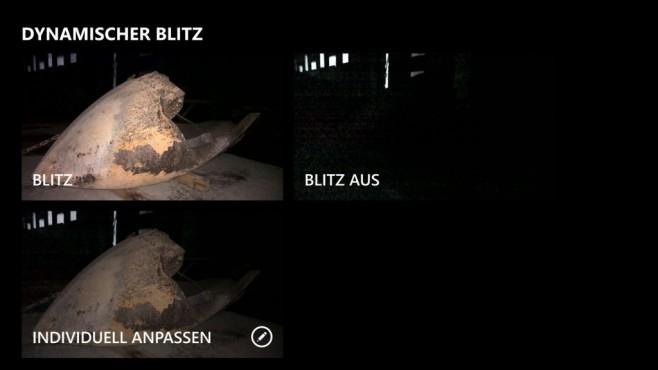 Dynamischer Blitz©COMPUTER BILD