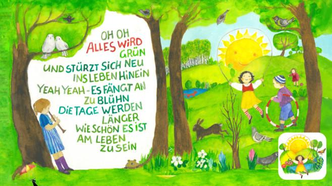Alles wird grün – Kinderlieder ©Felix Hofmann