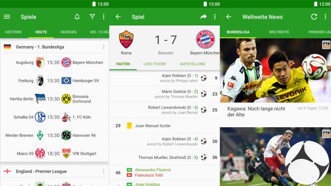 Fußball-Ergebnisse – FotMob ©NorApps AS