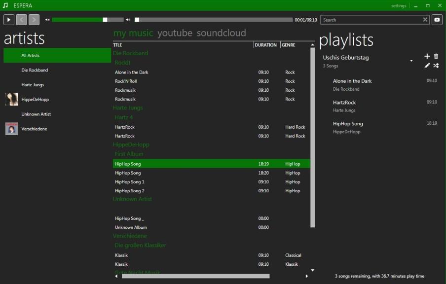 Screenshot 1 - Espera