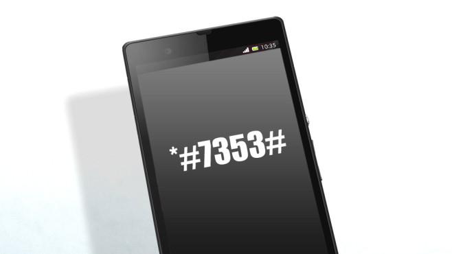 Die wichtigsten GSM-Codes für Android-Smartphones ©Sony