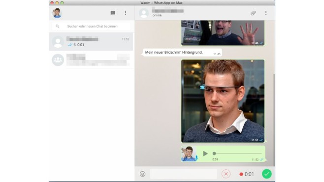 WhatsApp am PC © COMPUTER BILD
