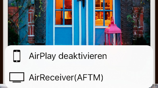 AirReceiver © Apple, COMPUTER BILD