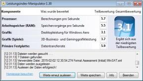 Leistungsindex-Manipulator