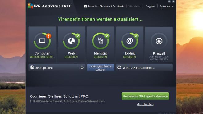 AVG Anti-Virus Free: Viren und Spyware blocken ©COMPUTER BILD