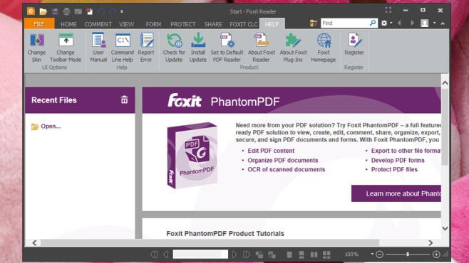 Foxit Reader: PDF-Dateien besonders sicher öffnen ©COMPUTER BILD