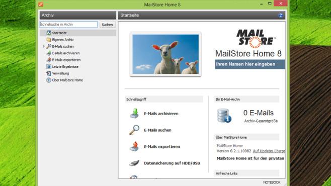 MailStore Home: Mails für den Notfall herunterladen ©COMPUTER BILD