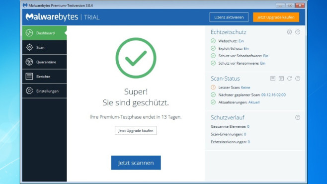 Malwarebytes Anti-Malware: Trojaner & Co. eliminieren ©COMPUTER BILD