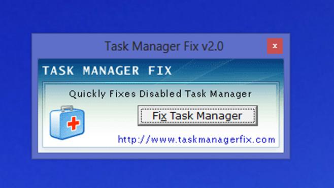 Task Manager Fix: Gesperrte Programmverwaltung freischalten ©COMPUTER BILD