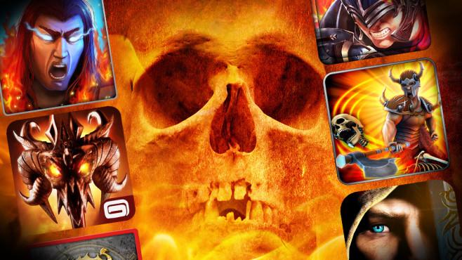 Hack'n'Slash-Games©Tryfonov - Fotolia.com, Gameloft, Actoz Soft, Com2uS USA, Making Fun, Crescent Moon Games, MobileBits