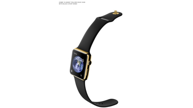 Apple Watch Edition: Sportarmband/Black © Apple